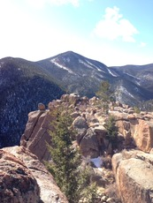 Mt. Rosa from Mt. Kineo Summit, Mount Rosa (Colorado) photo