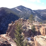 Mt. Rosa from Mt. Kineo Summit, Mount Rosa (Colorado)