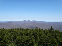 View from Hunter Mountain NY fire tower., Hunter Mountain (New York) photo