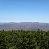 View from Hunter Mountain NY fire tower., Hunter Mountain (New York)