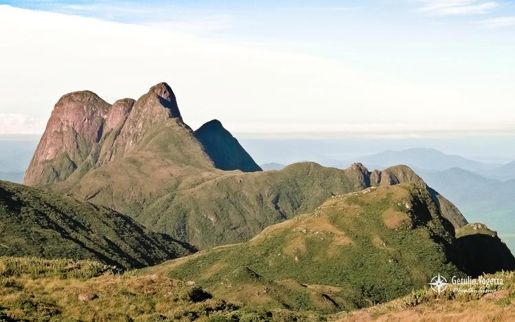 Conjunto Ibiteruçu (Pico Paraná) visto do cume do Monte Tucum