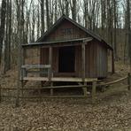 Birch Knob Shelter on Pine Mountain Trail, Pine Mountain (Appalachian Mountains)
