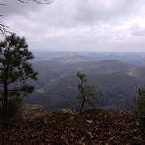 AmeriCorps Cliff on the Pine Mountain Trail, Pine Mountain (Appalachian Mountains)