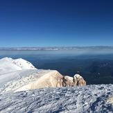 Mt .Hood summit looking NW, Mount Hood