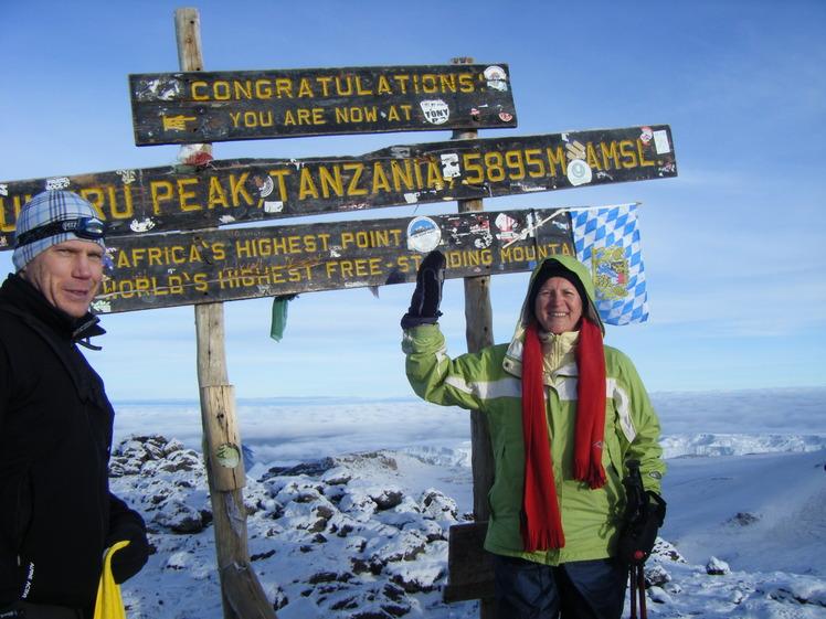 Kilimanjaro December 2009, Mount Kilimanjaro