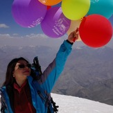 My birthday on Tochal peak