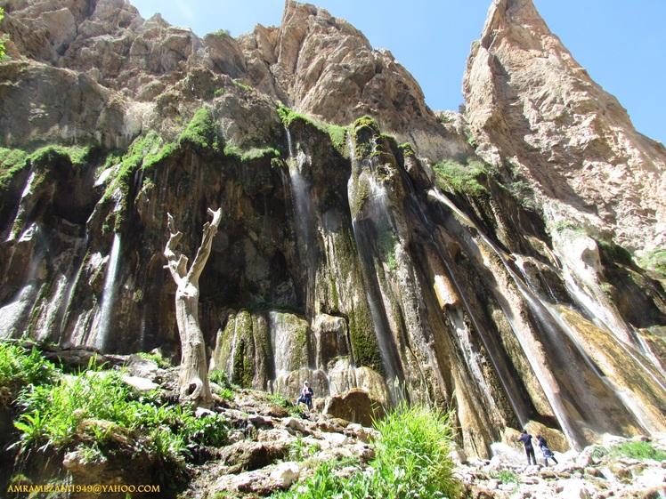 Naser Ramezani: Margon Waterfall, Dena