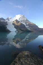 Berg Lake, Mount Robson photo
