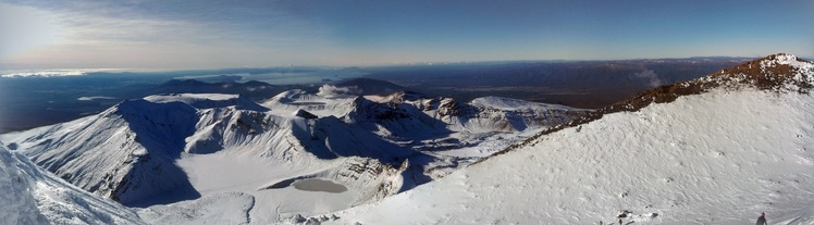Top of Mt Ngauruhoe, Mount Ngauruhoe