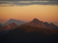 Alpenglow on Coquitlam Mountain  photo
