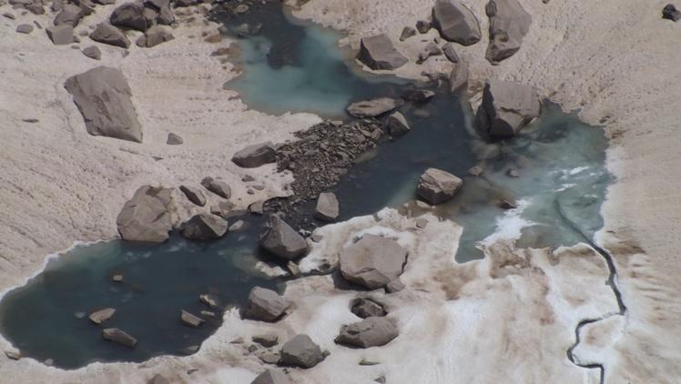 Glacier, Alam Kuh or Alum Kooh