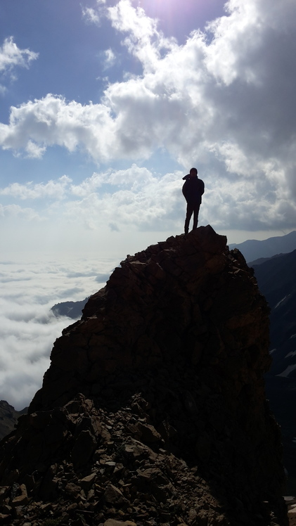 Siahgouk peak, Babak Zibaei, 29 July 2016, Alam Kuh or Alum Kooh