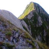 Pisanino from Bagola Bianca, Monte Pisanino
