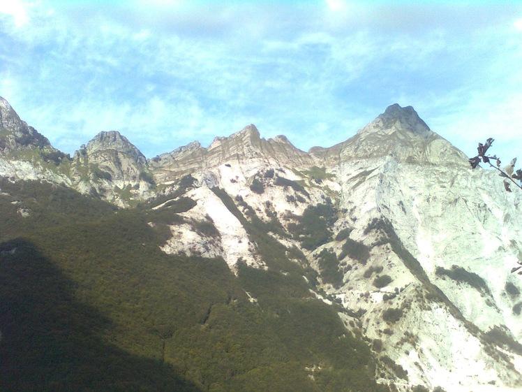 Pisanino from the South, Monte Pisanino