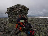 At the summit, Folarskardnuten photo