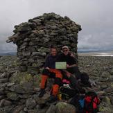 At the summit, Folarskardnuten