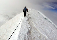 Illimani summit push photo