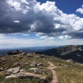 view of Lake Peak from Santa Fe Baldy