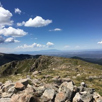 View to the southwest, Santa Fe Baldy photo