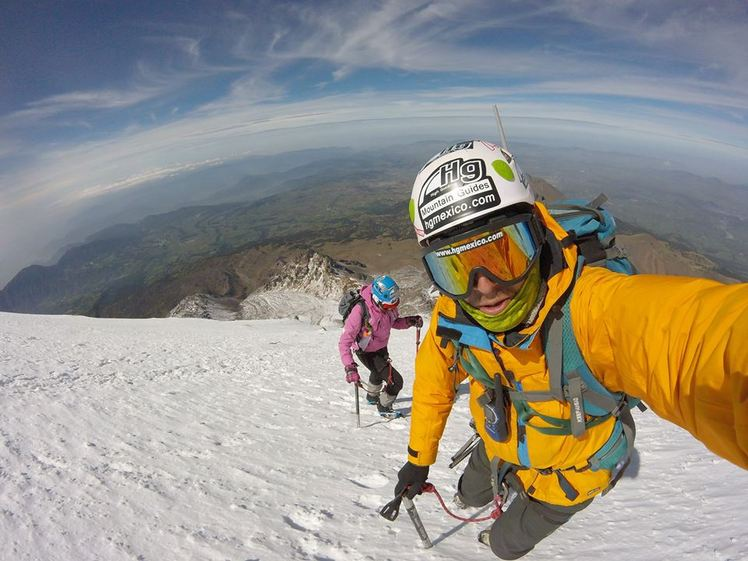 Pico de Orizaba near the summit