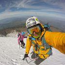 Pico de Orizaba near the summit