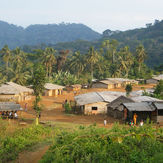 Bisoro Balue, a village in the Rumpi Hills