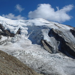 Weissmies and Trift Glacier