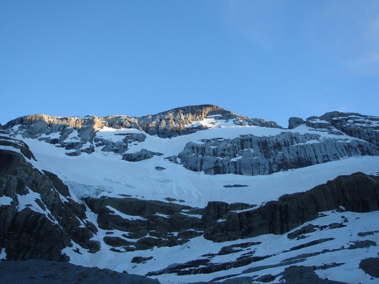 Monte Perdido north face