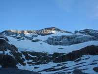 Monte Perdido north face photo