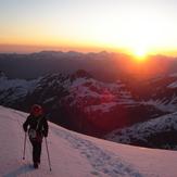 On the glacier, Aneto