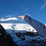 The summit, Cayambe (volcano)