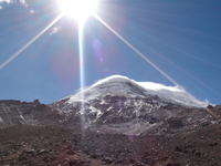 Catabatic winds, Chimborazo photo