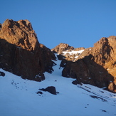 Northeast couloir, Ras N'Ouanoukrim