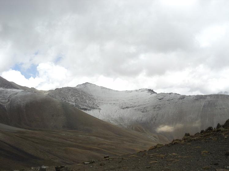 گردنه ورزا- در مسیر صعود قله برج, Borj