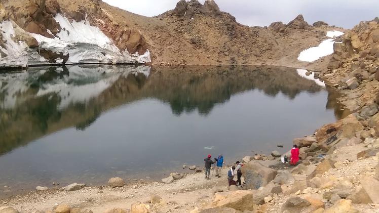 Mount Sabalan Lake, سبلان