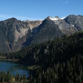 Bacon Peak and Upper Watson Lake