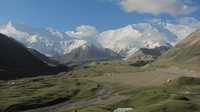 Lenin view from Achik Tash Valley, Pik Lenin photo
