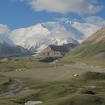 Lenin view from Achik Tash Valley, Pik Lenin