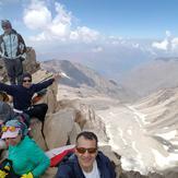 Alam Kooh peak, Alam Kuh or Alum Kooh