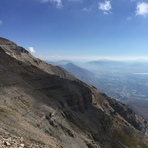 Western Slope from Main Trail, Mount Timpanogos