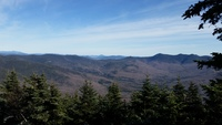 Mt Tecumseh summit view  photo