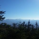 View of Mount Washington during Mt Waumbek hike, Mount Waumbek