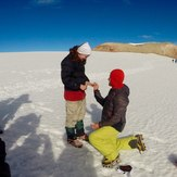 Wedding proposal, Iztaccihuatl