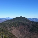 Mt Passaconway from cliffs on Mt Whiteface, Mount Whiteface