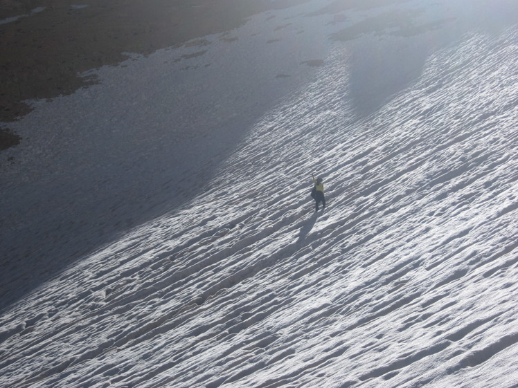 zard-kuh bakhtiari Glacier
