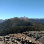Mount Pierce near summit