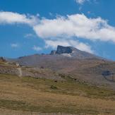 Veleta desde Hoya de la Mora, Pico Veleta