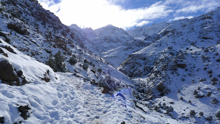 Mizana valley, Toubkal