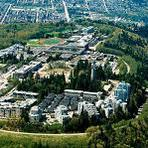 SFU and Univercity on Burnaby Mt., Burnaby Mountain