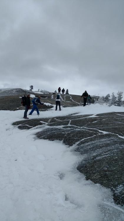 Mt. Cardigan near summit, Mount Cardigan